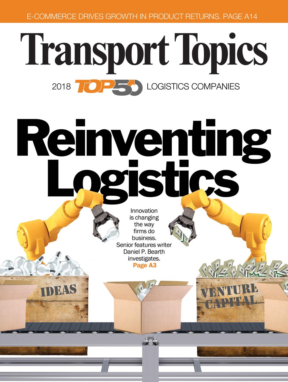 About Us: Transport Topics' Top 50 Logistics Companies