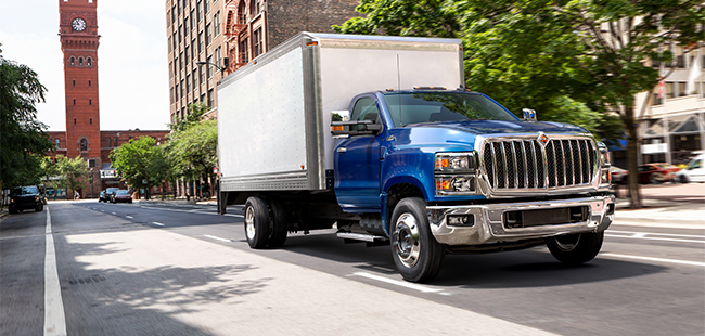 international extends commercial truck lineup with classes 4