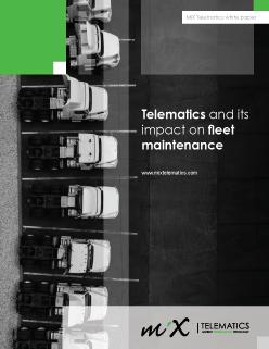 Telematics and Its Impact on Fleet Maintenance