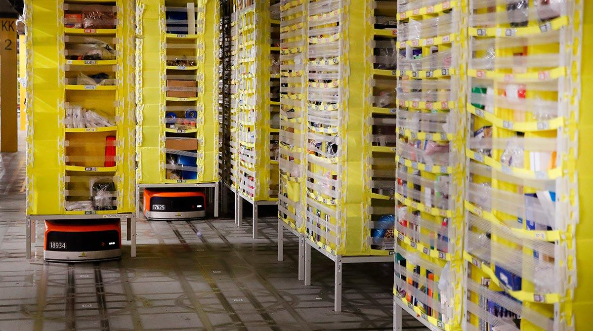 Amazon Warehouse Robot