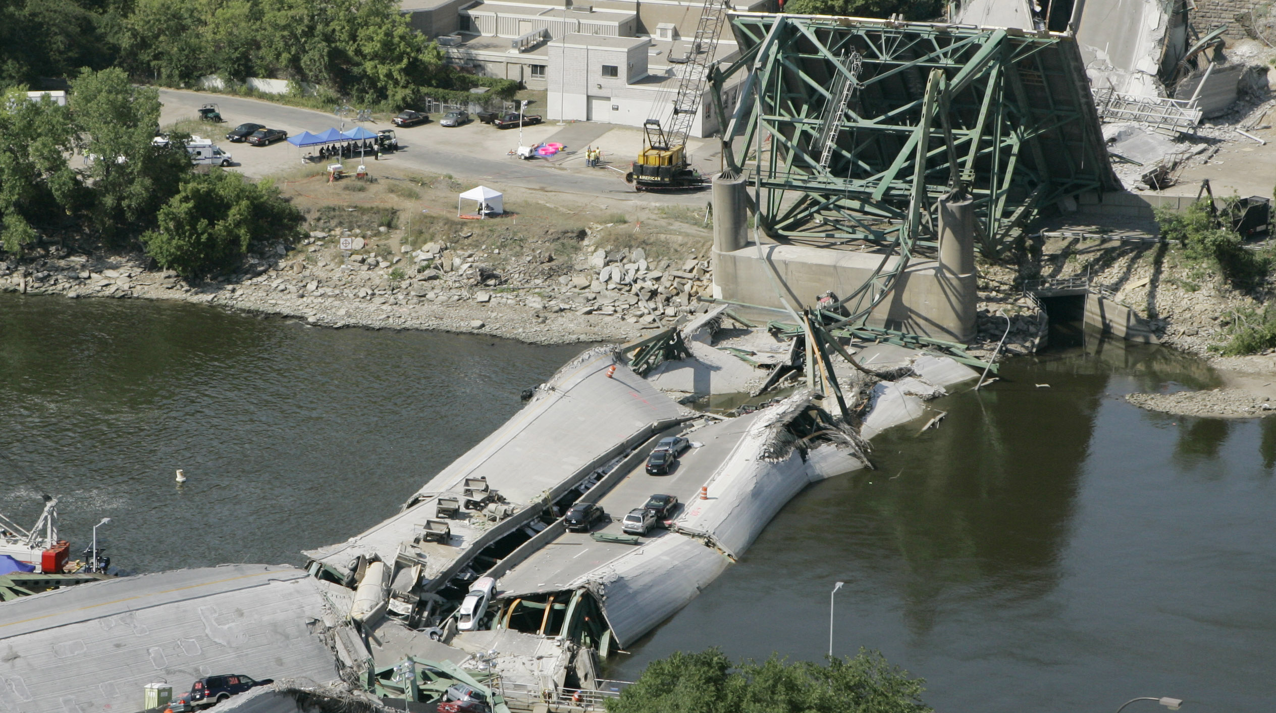 Minnesota I-35W bridge collapse