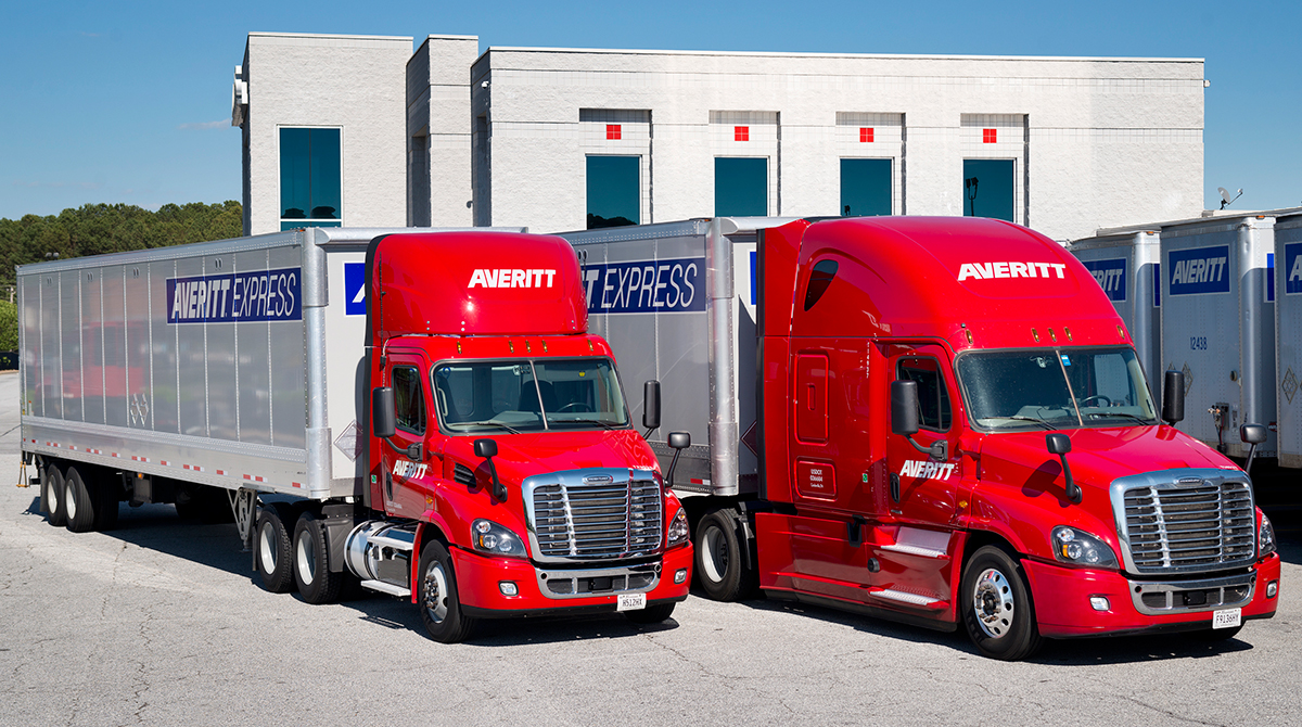 Averitt Express trucks