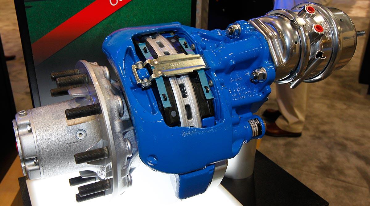 Bendix air disc brakes