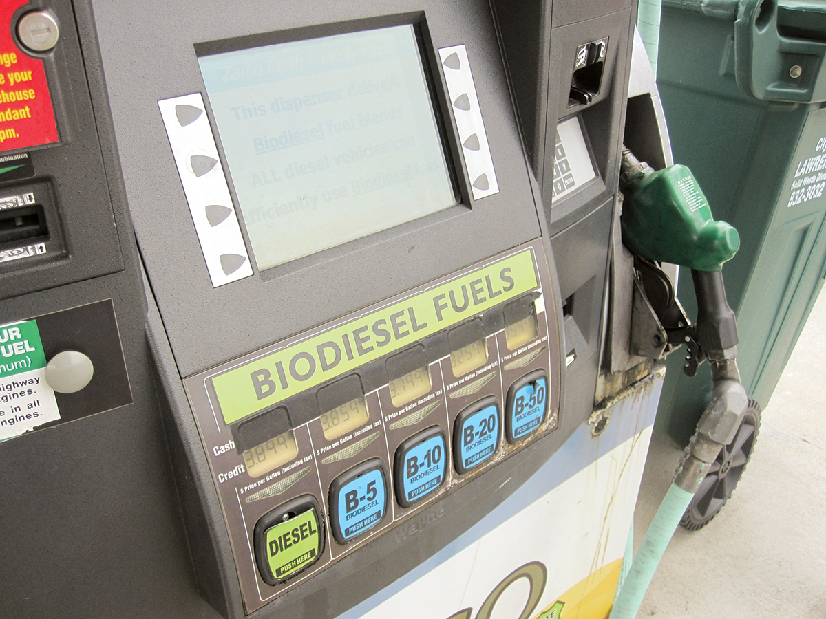 Biodiesel pump in Minnesota