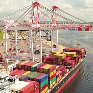 Port of Tampa Bay ship