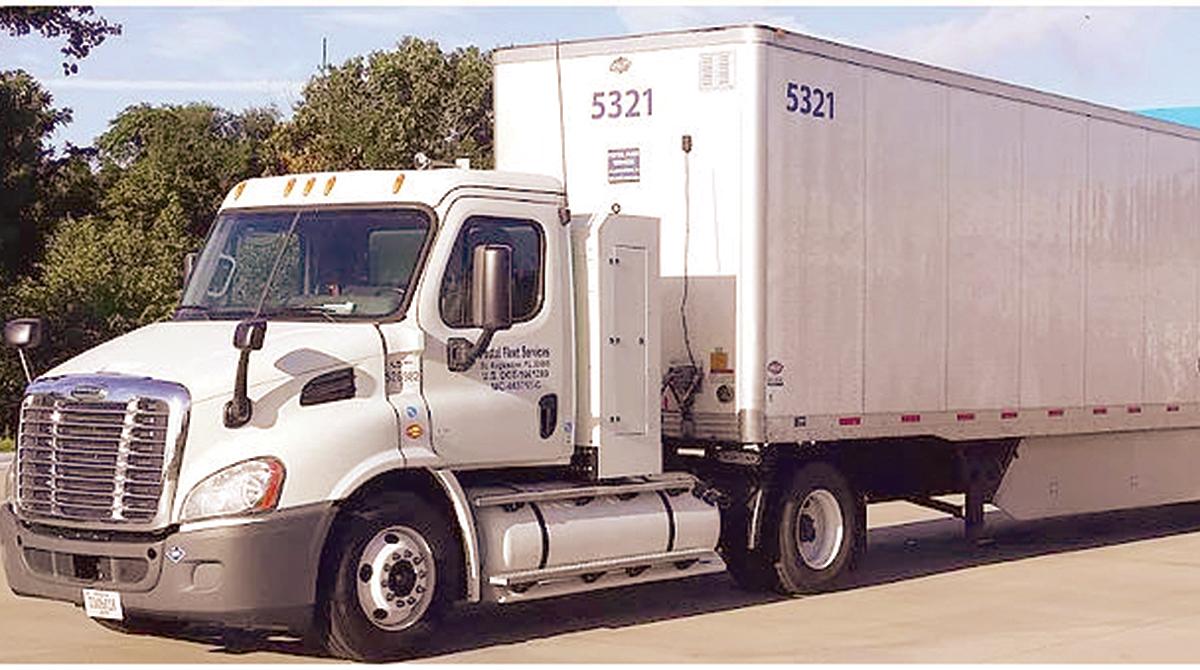 Postal Fleet Services truck