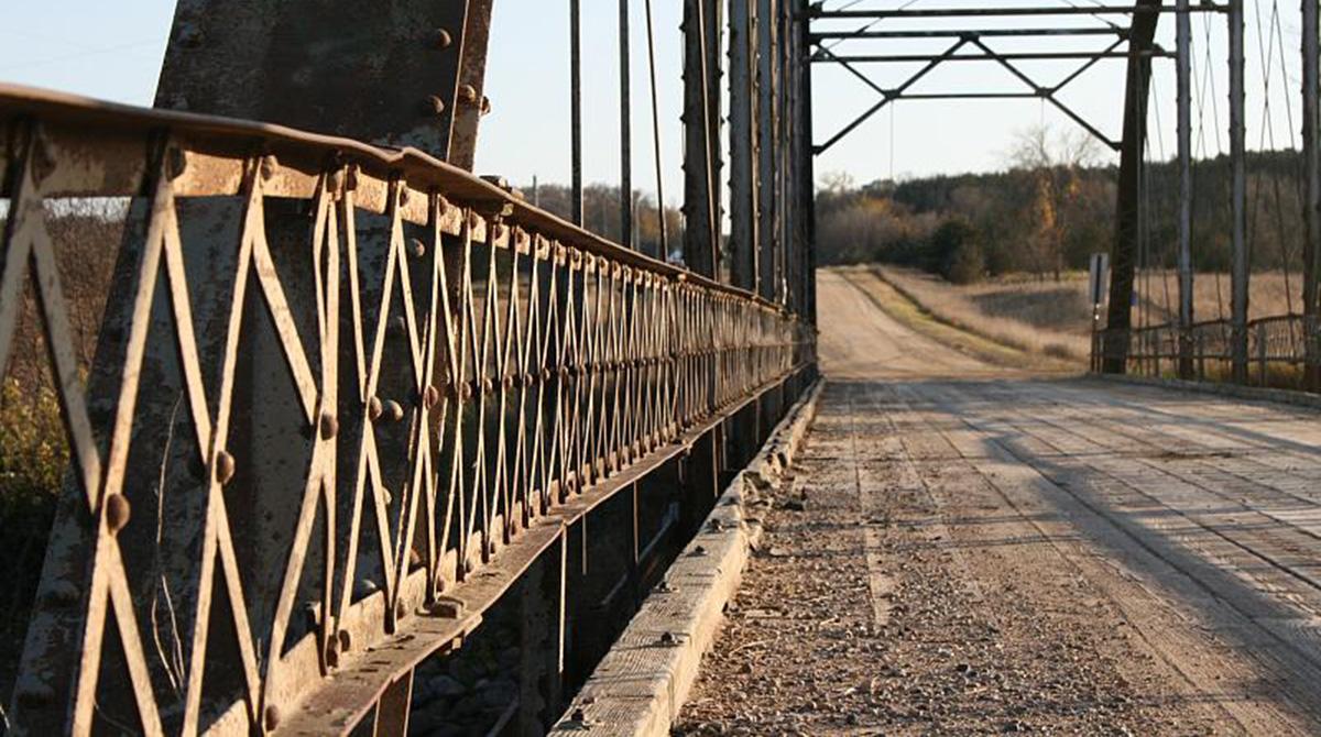 Aging bridge in Minnesota