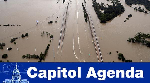 Flooded I-65