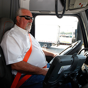 Barry Pottle still has his CDL