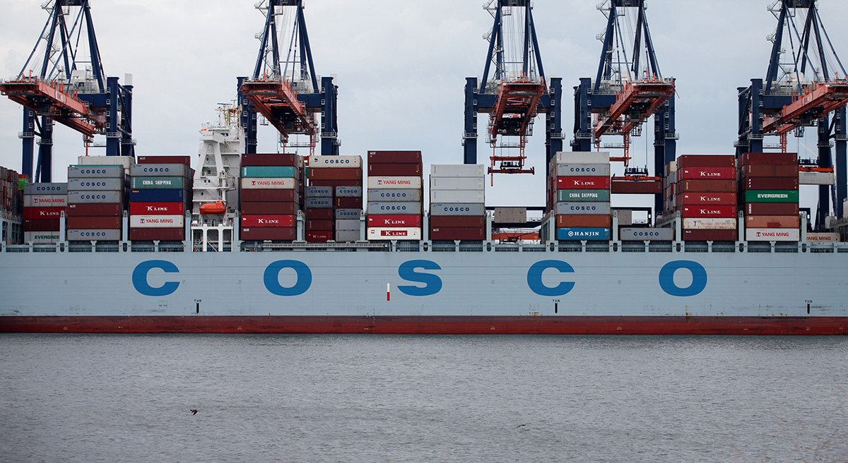 Cosco has bid $6.3 billion for Oriental Overseas international
