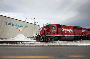 Canadian Pacific Railway train