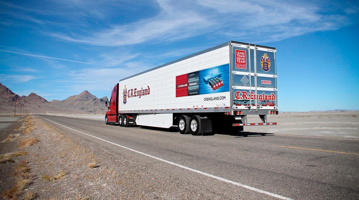 C.R. England trailer aerodynamics