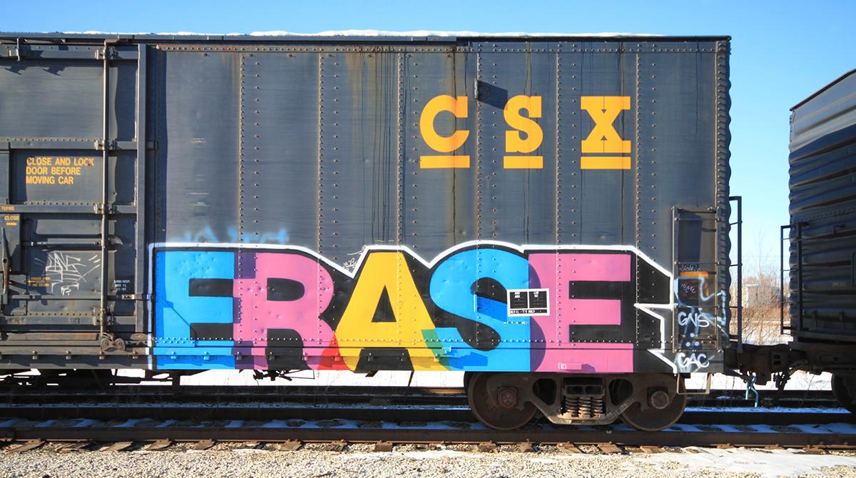 CSX railcar