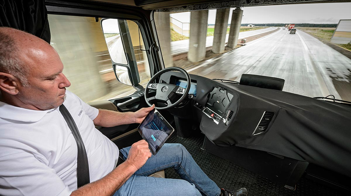 Self-Driving Truck
