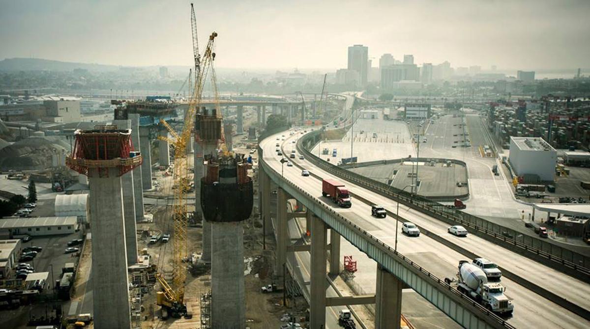 Desmond Bridge construction