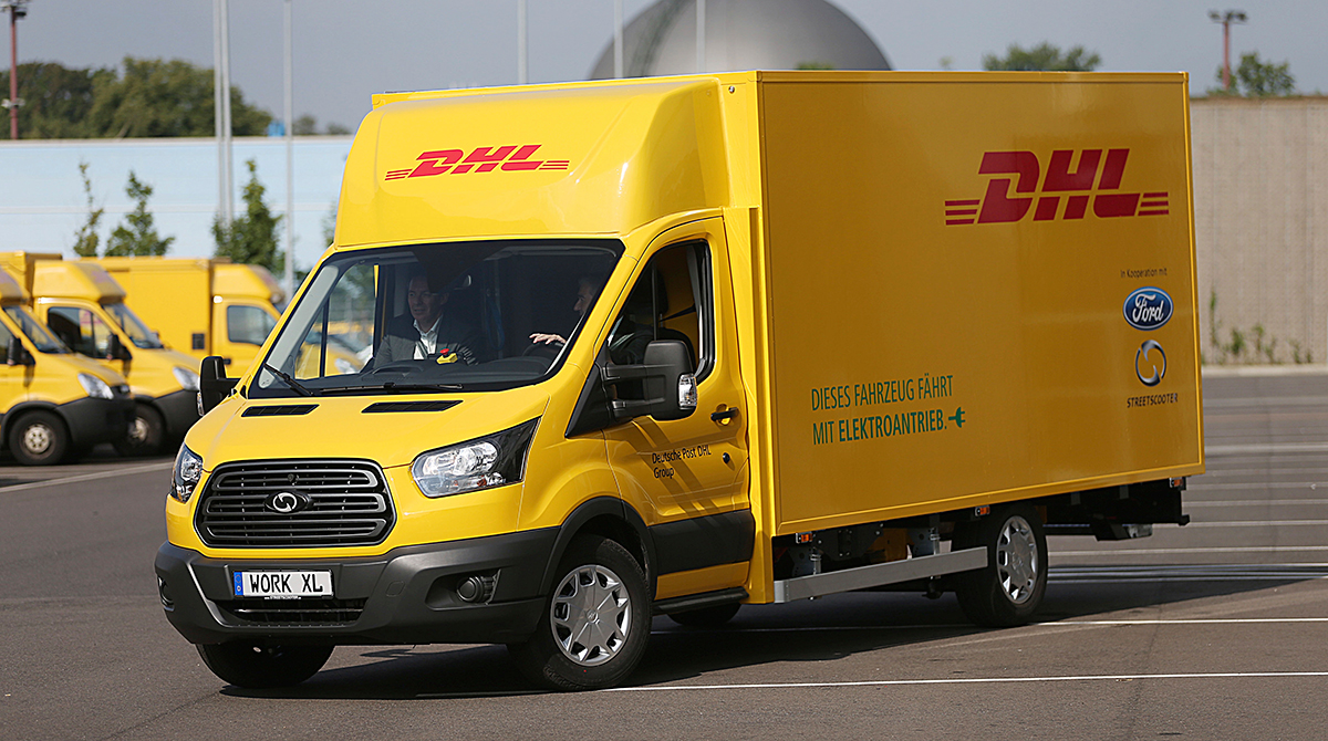 Ford Transport Van >> DHL, Ford Unveil Jointly Made Electric Delivery Van | Transport Topics