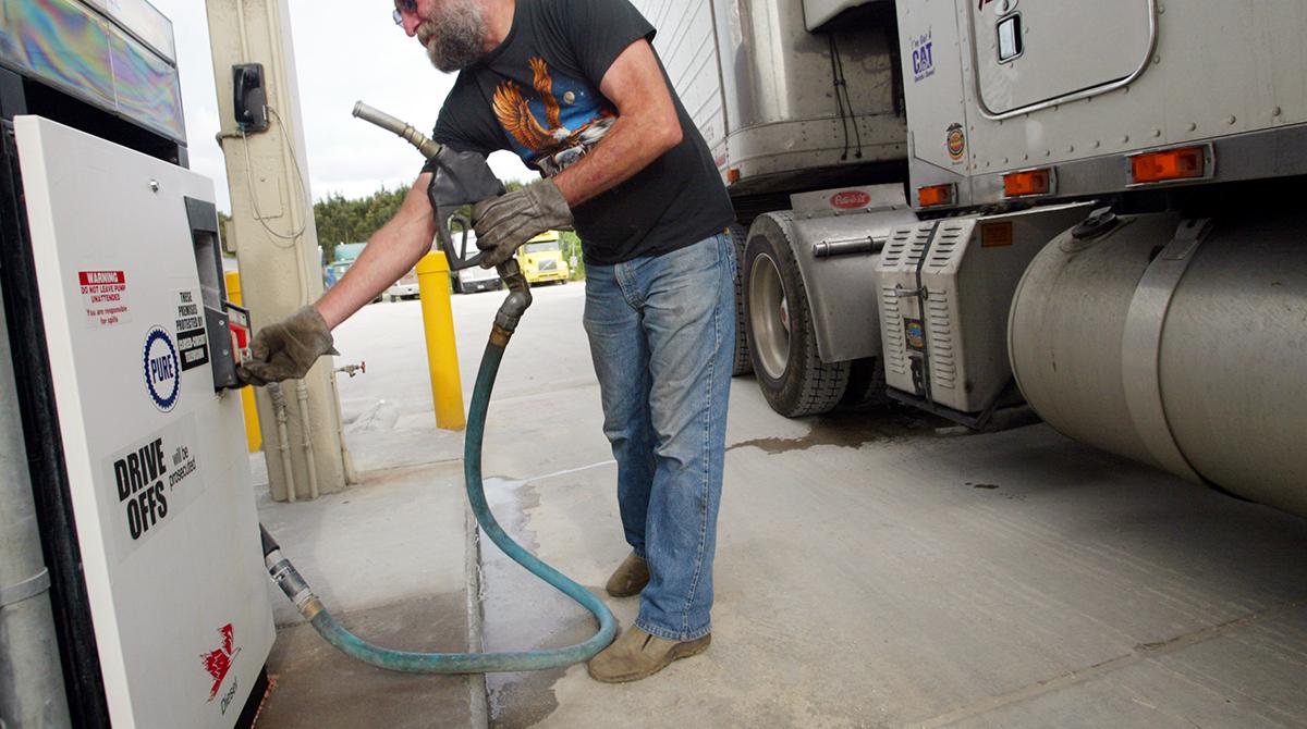 driver pumps diesel