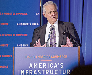 Michael Ducker addresses U.S. Chamber of Commerce