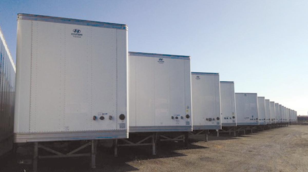 Hyundai Translead trailers