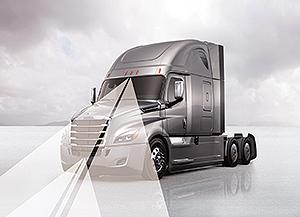 Daimler truck with Detroit Assurance 4.0