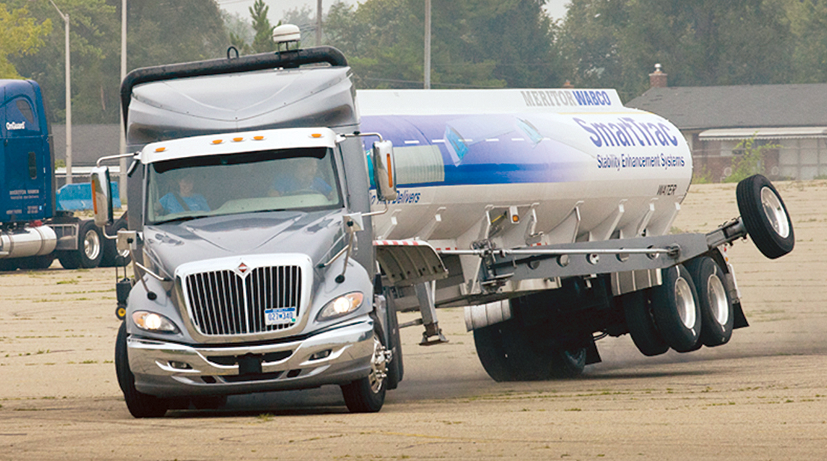 Electronic Stability Control: A New Standard for Trucking