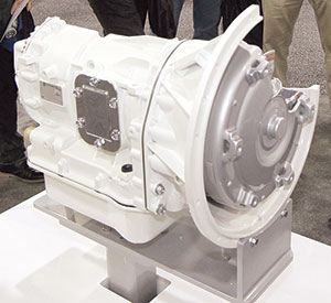 Fully automatic Allison transmission