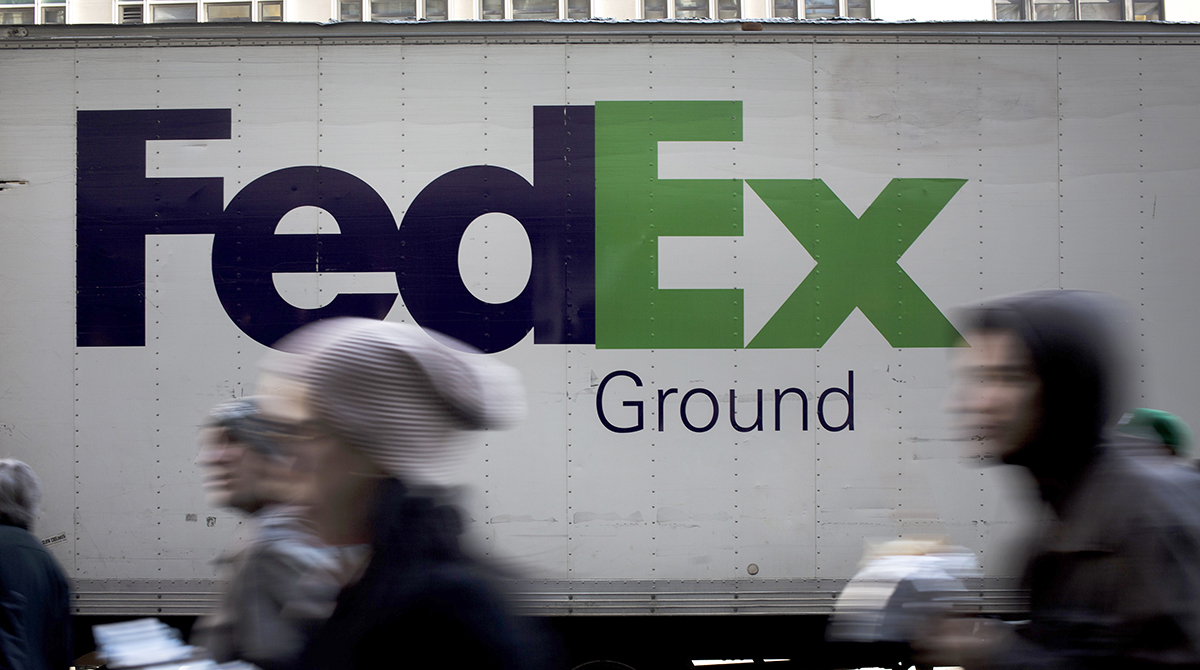 FedEx Ground in New York City