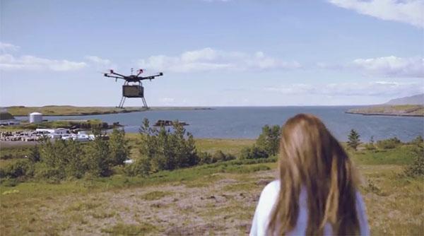 A Flytrex drone