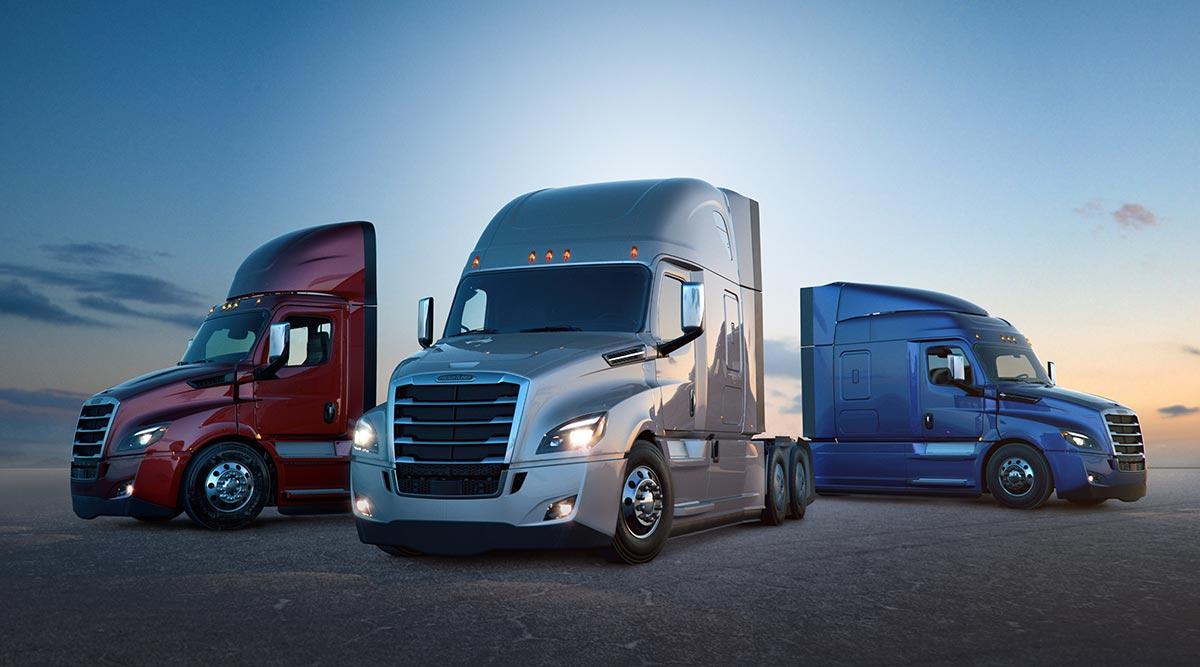 Freightliner Cascadia trucks