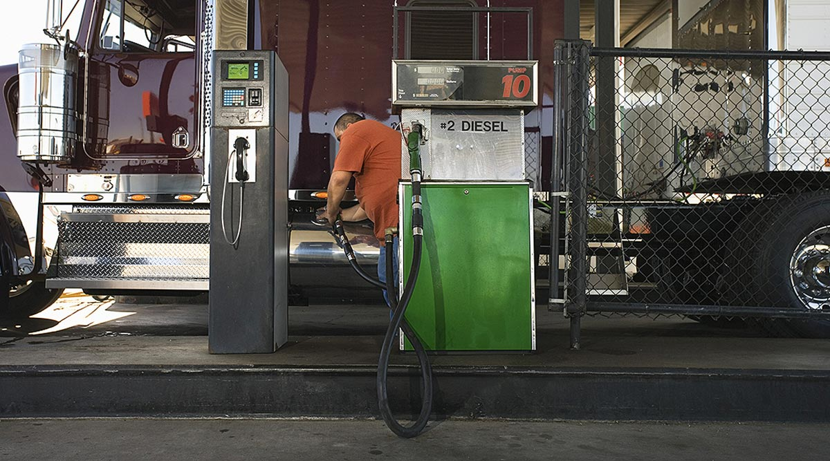 Diesel Rises 0.9 cent after four straight declines