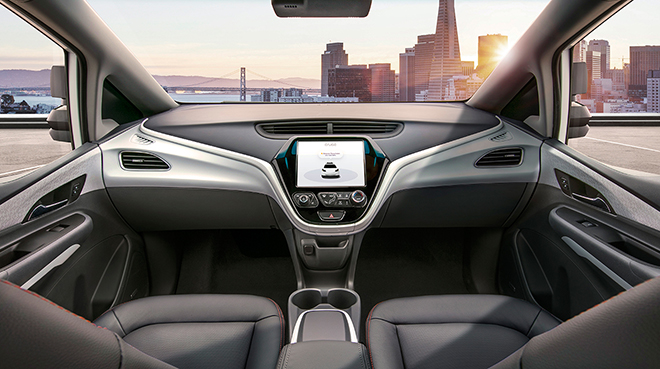 GM Cruise Autonomous Car