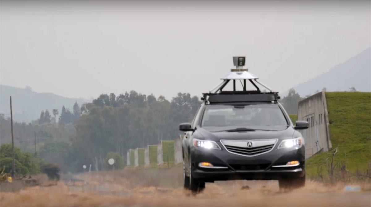 Honda researchers are using the GoMentum facility 30 miles north of San Francisco to test automated driving technologies using modified versions of the Acura RLX.