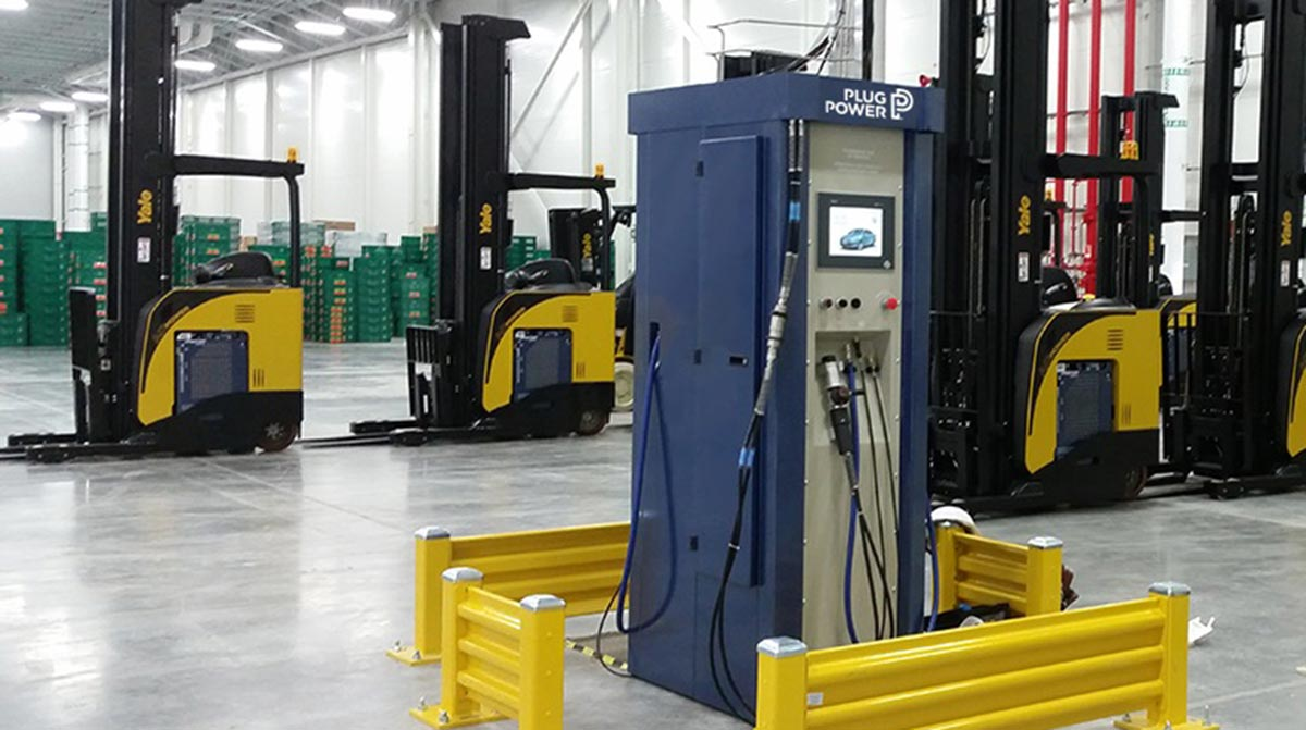 Hydrogen Powered Forklifts