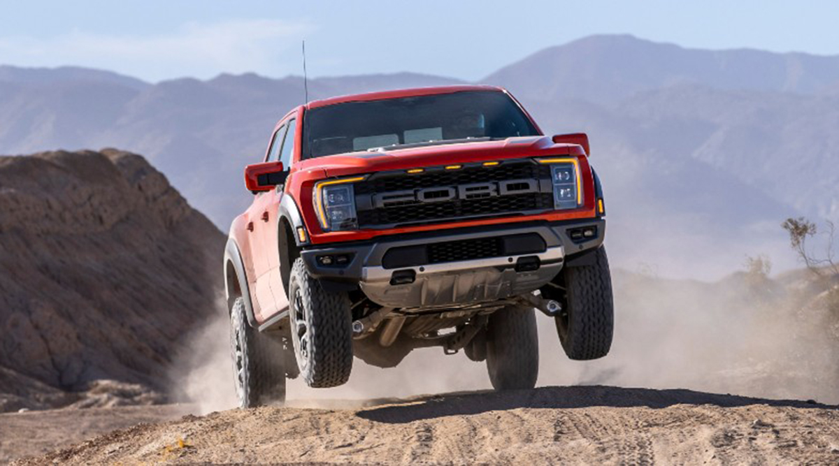 Ford's off-road capable and connected F-150 Raptor