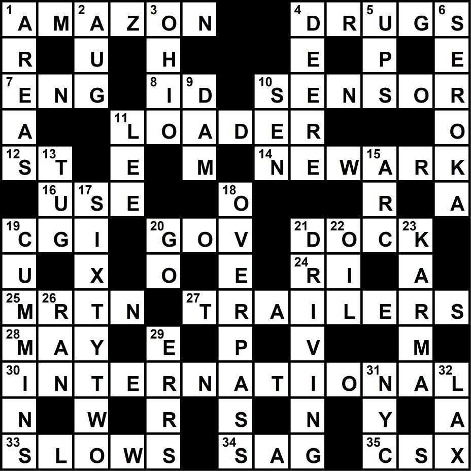 Crossword Solution