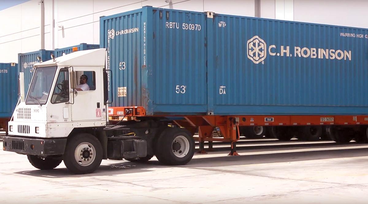 C.H. Robinson truck
