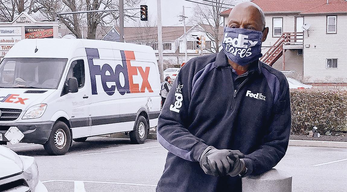 Reggie Barrows of FedEx Express