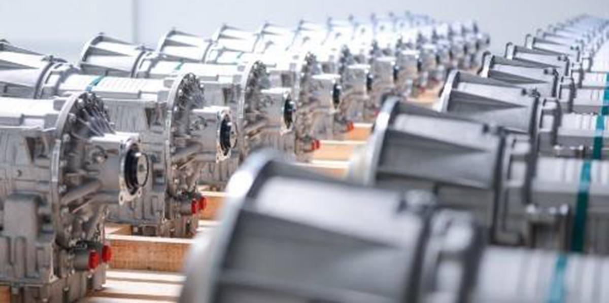 Allison transmissions on the assembly line