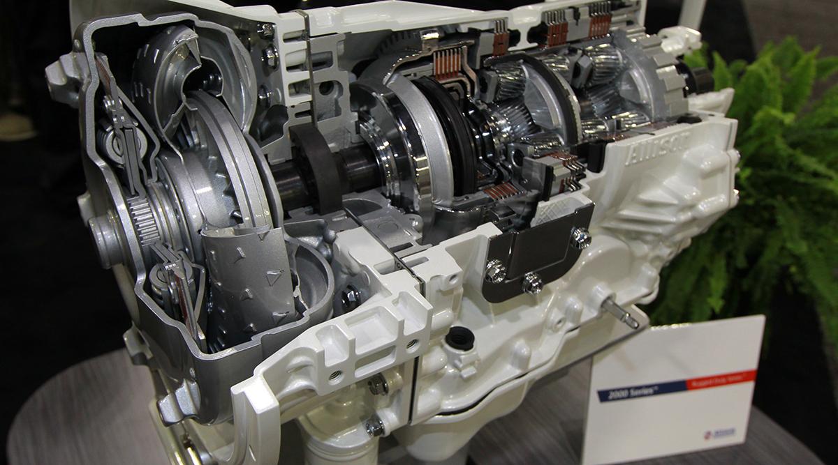 An Allison 2000 Highways Series transmission