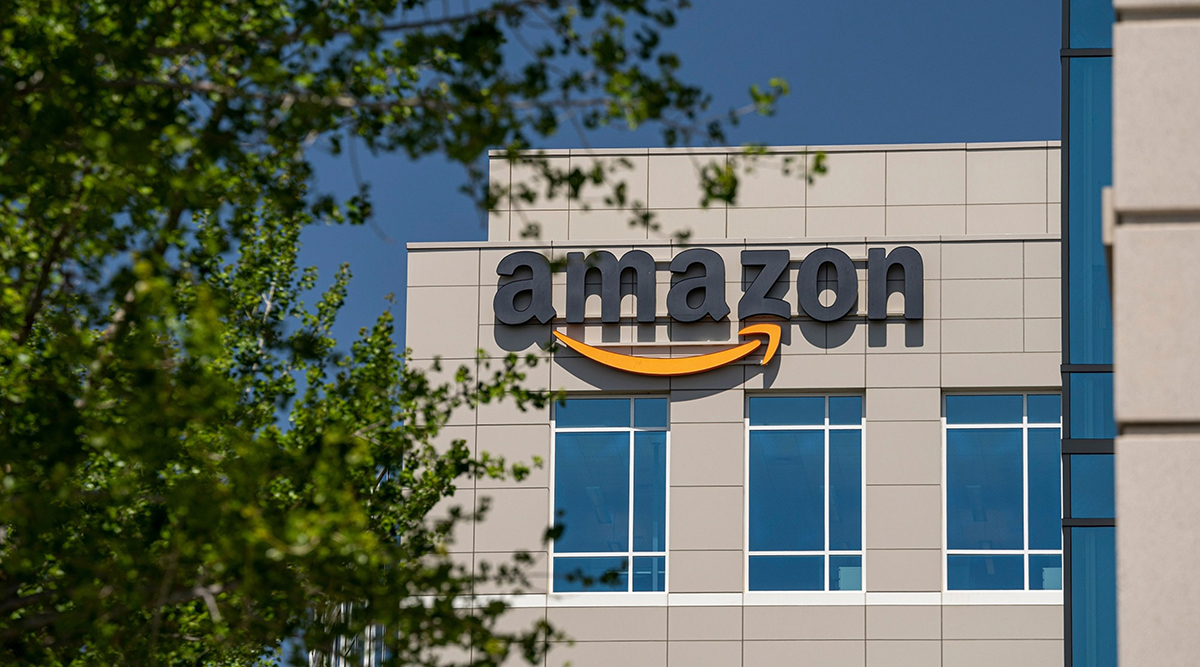 An Amazon research and development headquarters in Sunnyvale, Calif. (David Paul Morris/Bloomberg News)