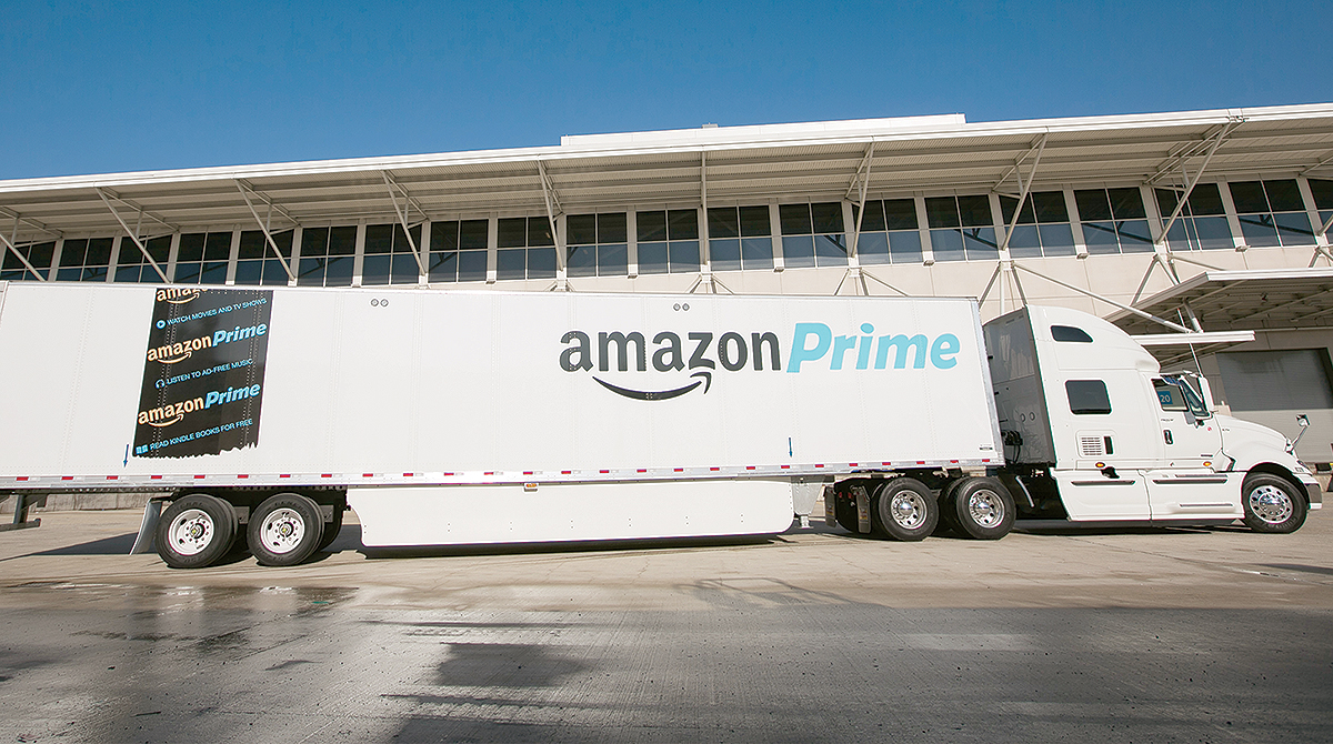 Amazon com 'Insourcing' Roils Freight Industry, Analysts Say