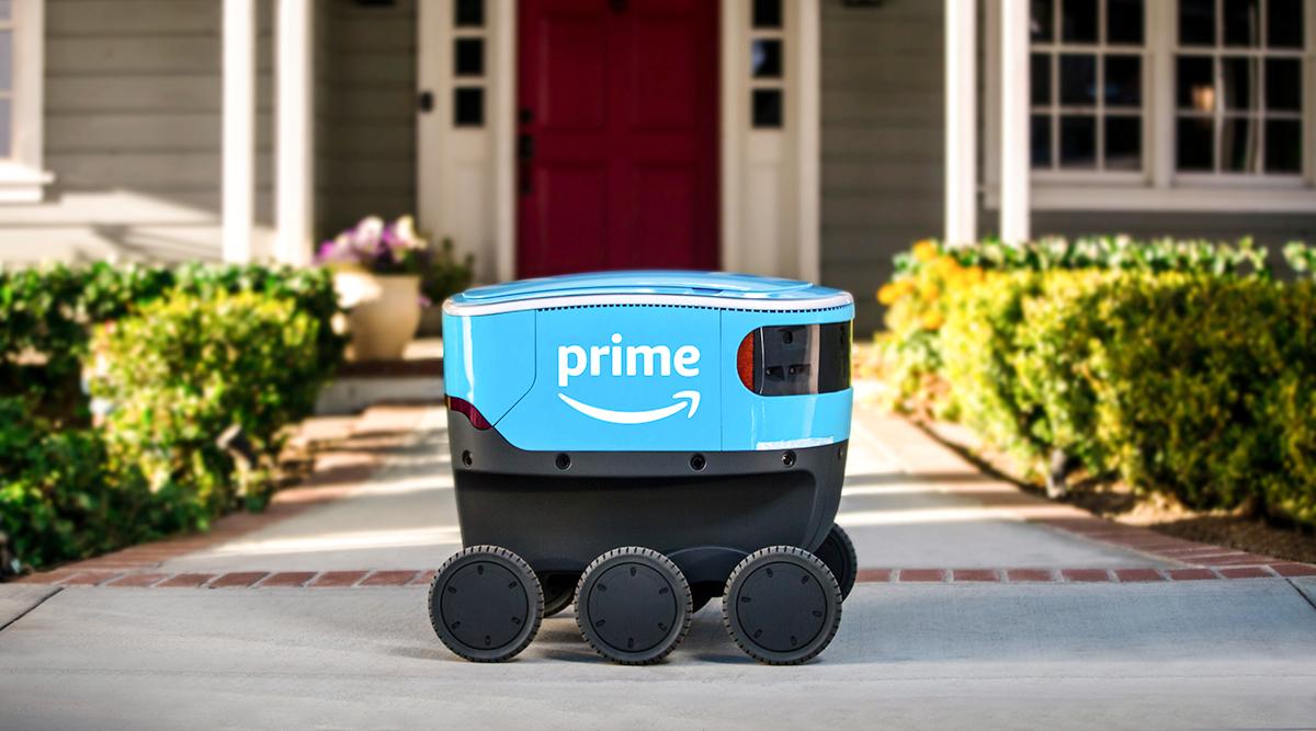 Amazon's self-driving robot