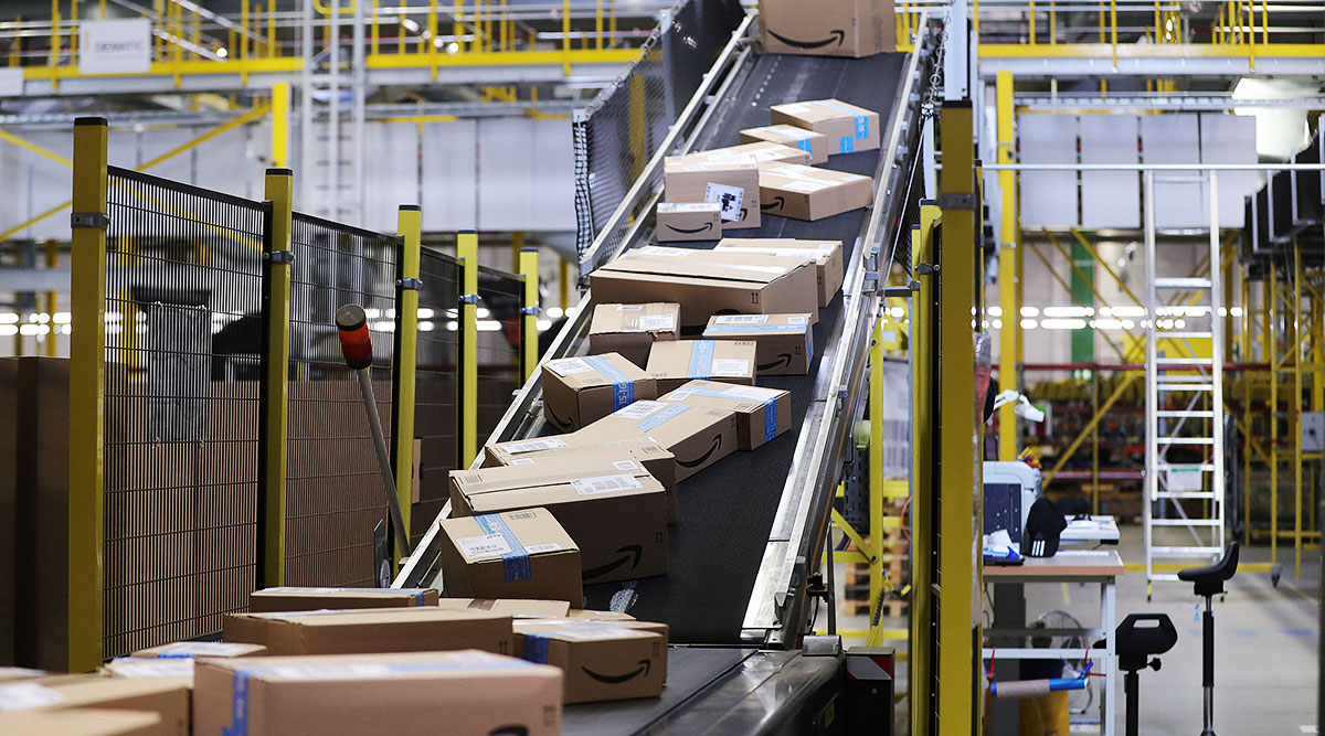 Amazon Opens Oklahoma Fulfillment Center | Transport Topics