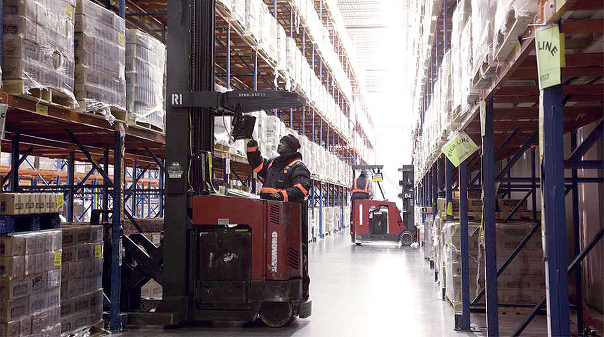 Americold warehouse
