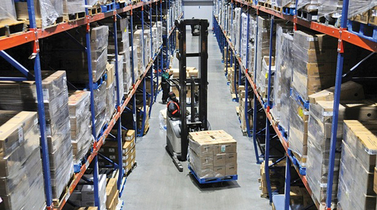 An Americold cold-storage warehouse