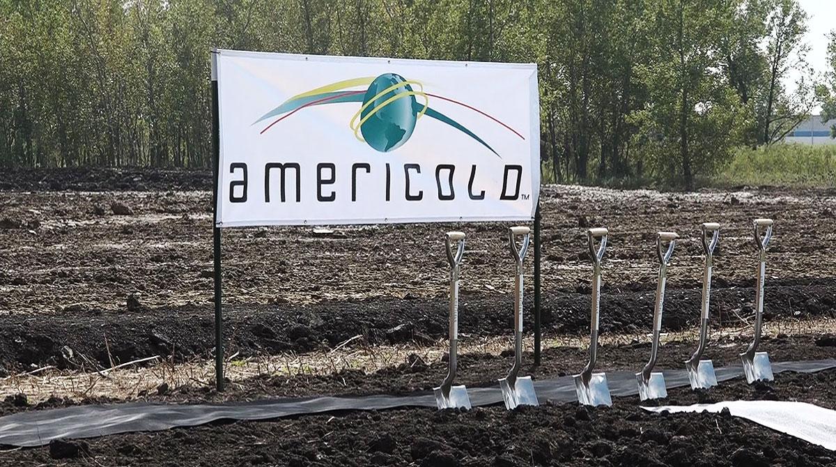 Americold signage
