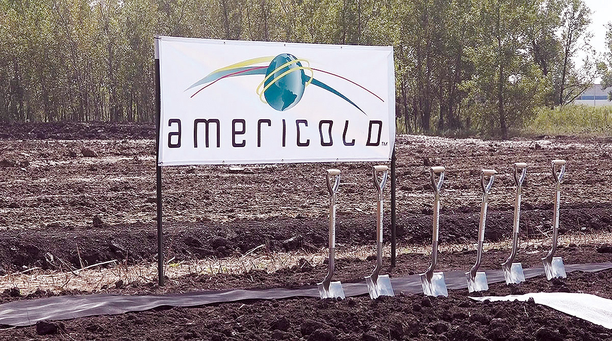 Americold sign