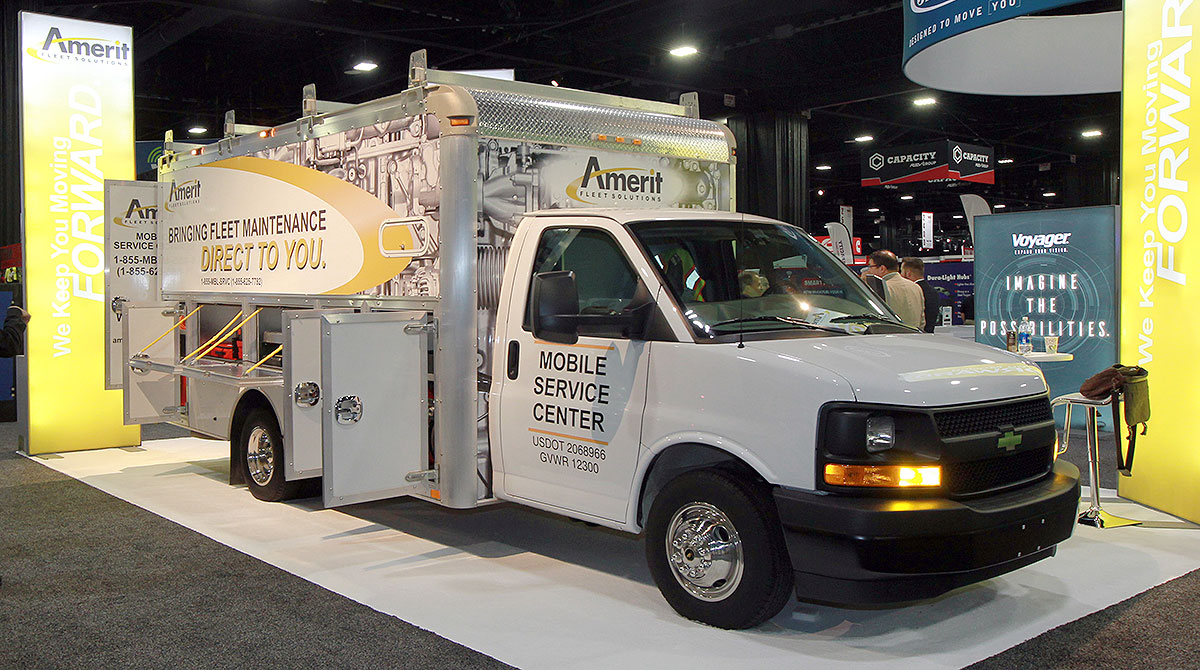 Amerit Fleet Solutions repair truck
