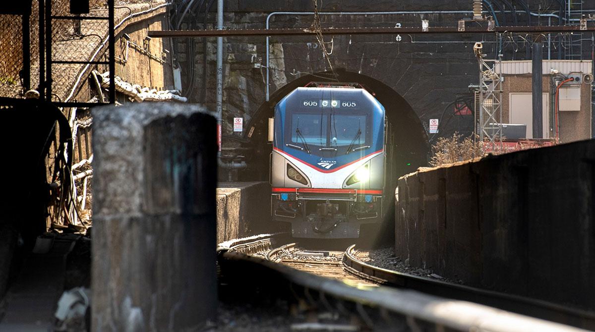 Amtrak train New Jersey