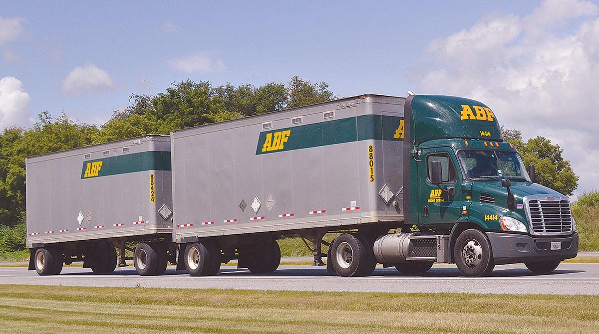 ArcBest Corp. truck